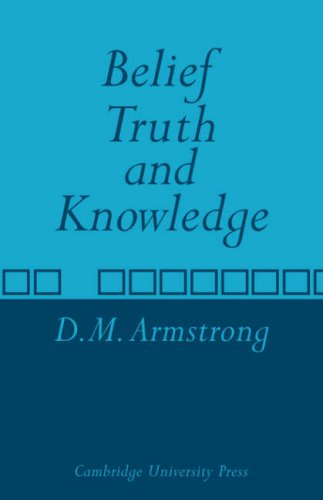 Belief, Truth and Knowledge 9780521097376