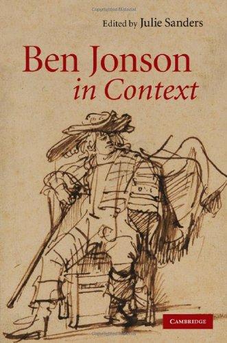 Ben Jonson in Context 9780521895712