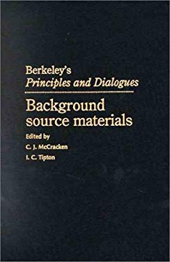 Berkeley's Principles and Dialogues: Background Source Materials 9780521496810
