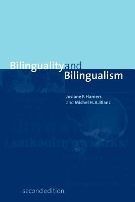 Bilinguality and Bilingualism 9780521648431
