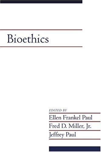 Bioethics: Volume 19, Part 2 9780521525268