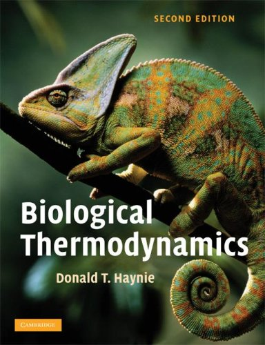 Biological Thermodynamics 9780521711340