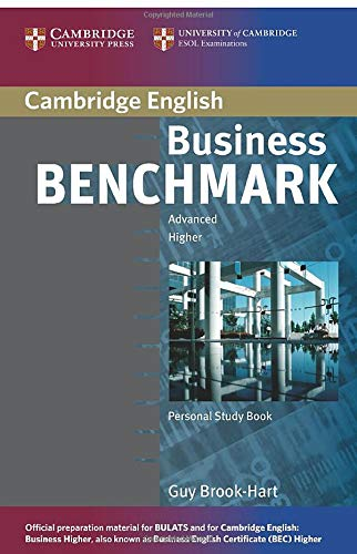 Business Benchmark Advanced Higher: Personal Study Book 9780521672979