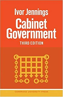 Cabinet Government 9780521095709