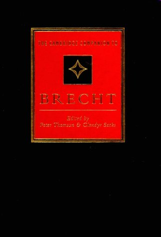 Camb Comp to Brecht 1ed 9780521414463