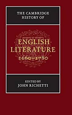 Cambridge History of English Literature, 1660-1780