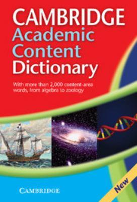 Cambridge Academic Content Dictionary 9780521871433