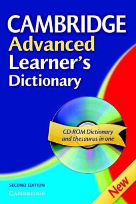 Cambridge Advanced Learner's Dictionary Hardback with CD ROM [With CDROM] 9780521843799
