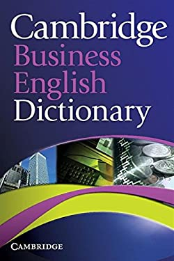 Cambridge Business English Dictionary 9780521122504