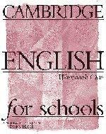 Cambridge English for Schools 1 Workbook 9780521421737