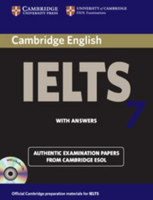 Cambridge IELTS 7: Official Examination Papers from University of Cambridge ESOL Examinations [With 2 CDs and Answer Key] 9780521739191