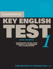 Cambridge Key English Test 1 with Answers: Examination Papers from the University of Cambridge ESOL Examinations: English for Spea