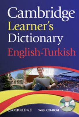 Cambridge Learner's Dictionary English-Turkish [With CDROM]
