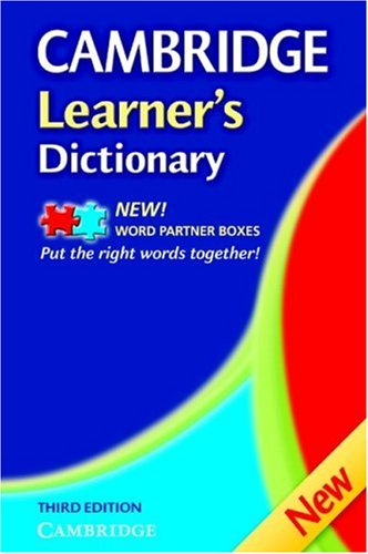 Cambridge Learner's Dictionary 9780521681964