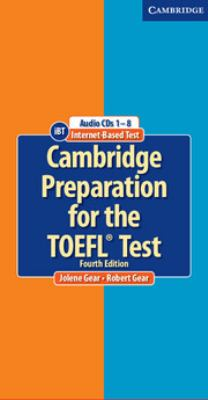 Cambridge Preparation for the TOEFL(R) Test Audio CDs (8) 9780521755856