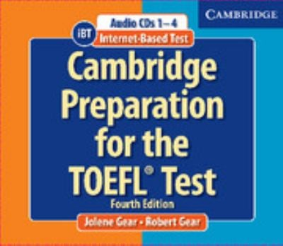 Cambridge Preparation for the TOEFL(R) Test Book and Audio CDs Pack [With CDROM] 9780521755870
