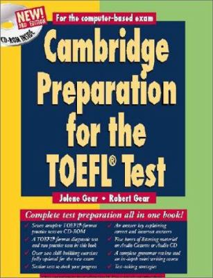 Cambridge Preparation for the TOEFL(R) Test Book and Audio Cassettes Pack [With CDROM and Cassette] 9780521783972