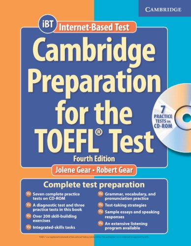 Cambridge Preparation for the TOEFL Test [With CDROM]