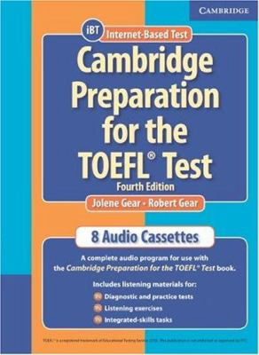 Cambridge Preparation for the TOEFL Test [With Student Book] 9780521755863