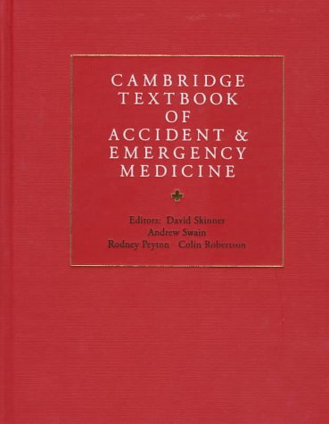 Cambridge Textbook of Accident and Emergency Medicine 9780521433792