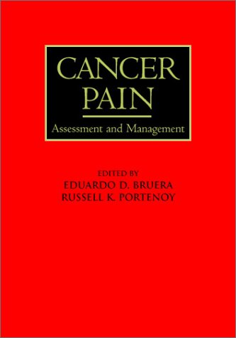 Cancer Pain: Assessment and Management 9780521773324