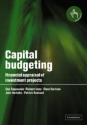 Capital Budgeting: Financial Appraisal of Investment Projects 9780521520980