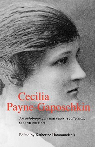 Cecilia Payne-Gaposchkin: An Autobiography and Other Recollections 9780521483902