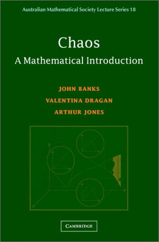 Chaos: A Mathematical Introduction 9780521531047