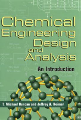 Chemical Engineering Design and Analysis 9780521630412