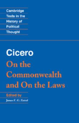 Cicero: On the Commonwealth and on the Laws 9780521459594