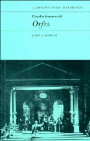 Claudio Monteverdi, Orfeo 9780521241489