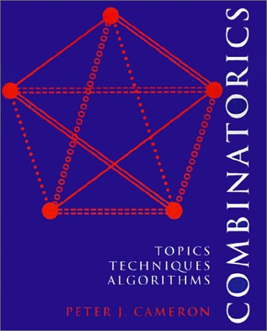 Combinatorics: Topics, Techniques, Algorithms 9780521457613