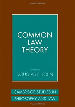 Common Law Theory 9780521846424