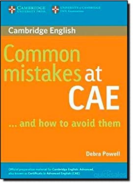 Common Mistakes at Cae... and How to Avoid Them 9780521603775