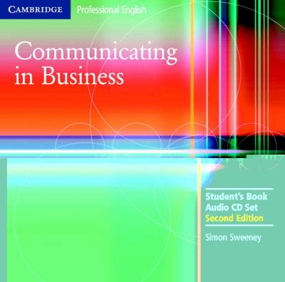 Communicating in Business 9780521549158