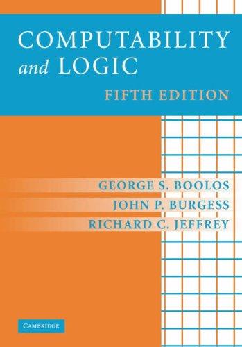 Computability and Logic 9780521701464