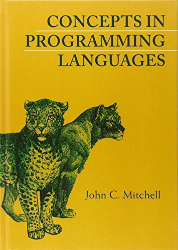 Concepts in Programming Languages 9780521780988