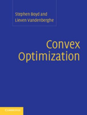 Convex Optimization 9780521833783
