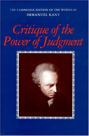 Critique of the Power of Judgment 9780521344470