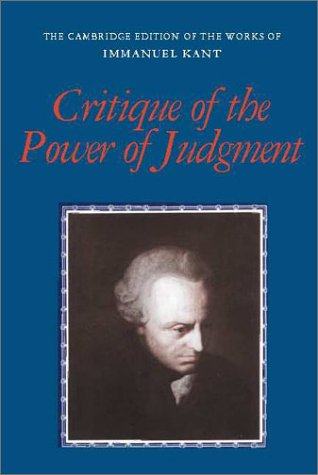 Critique of the Power of Judgment 9780521348928