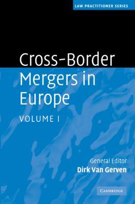 Cross-Border Mergers in Europe, Volume I 9780521483278