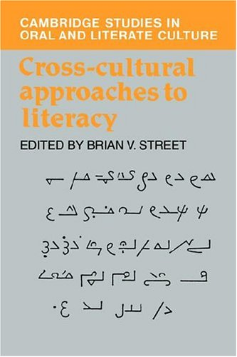 Cross-Cultural Approaches to Literacy 9780521401678