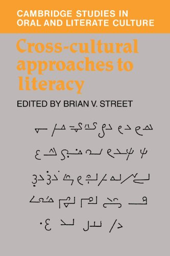 Cross-Cultural Approaches to Literacy 9780521409643