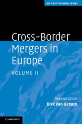 Cross-Border Mergers in Europe 9780521487603