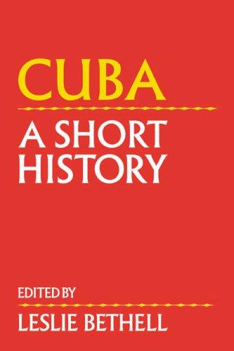 Cuba: A Short History 9780521430630