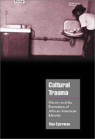 Cultural Trauma: Slavery and the Formation of African American Identity 9780521004374