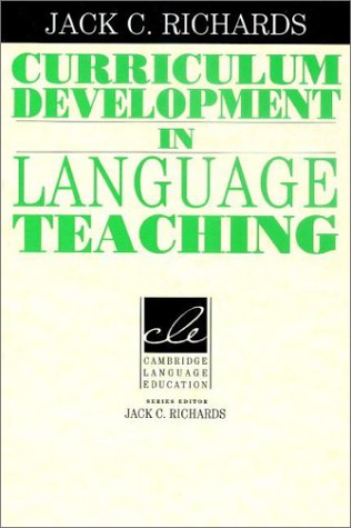 Curriculum Development in Language Teaching 9780521804912