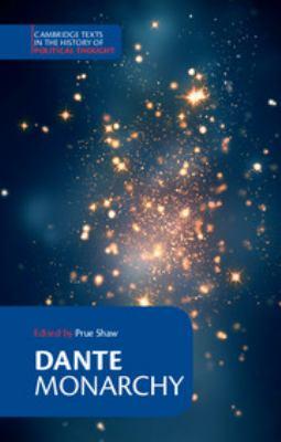 Dante: Monarchy 9780521567817
