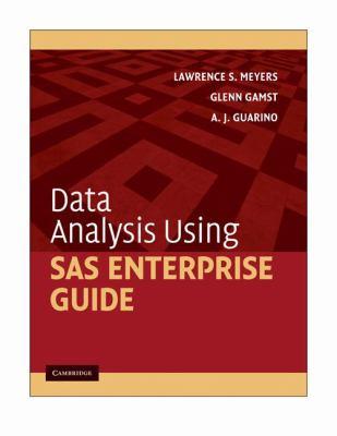 Data Analysis Using SAS Enterprise Guide 9780521130073