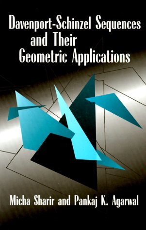 Davenport Schinzel Sequences and Their Geometric Applications 9780521470254